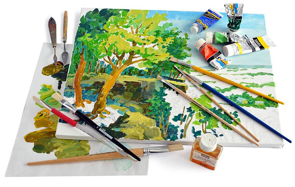 Acrylic And Oil Painting Program Milton Art Classes